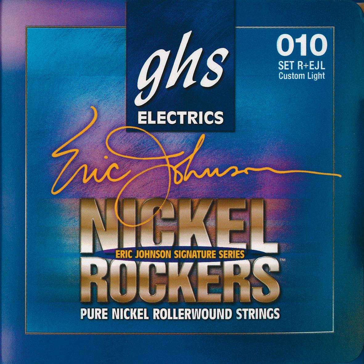 Struny do gitary elektrycznej GHS Nickel Rockers (akcesoria)