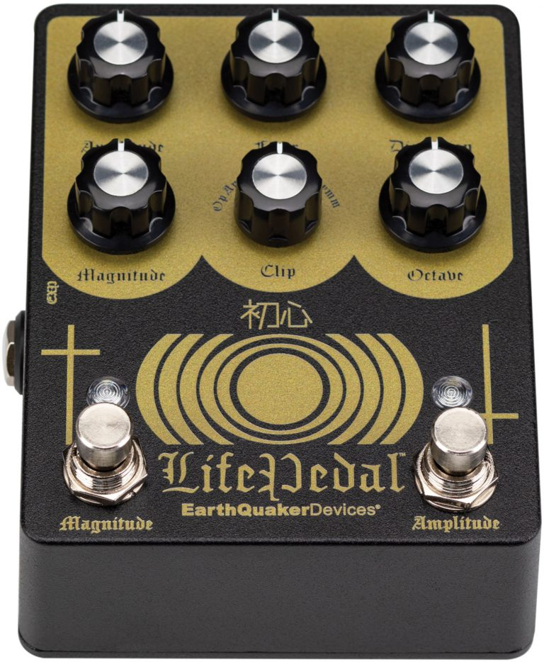 EarthQuaker Devices Life Pedal V2 Distortion / Boost / Octaver